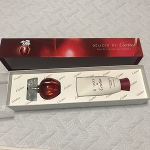 Delices Cartier gift set new
